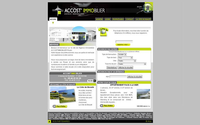 Accost'Immobilier - Royan
