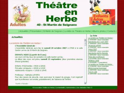 Théâtre en Herbe - Saint Martin de Seignanx