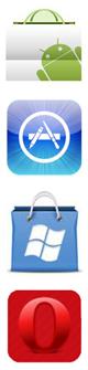 Smartphones applicatins markets
