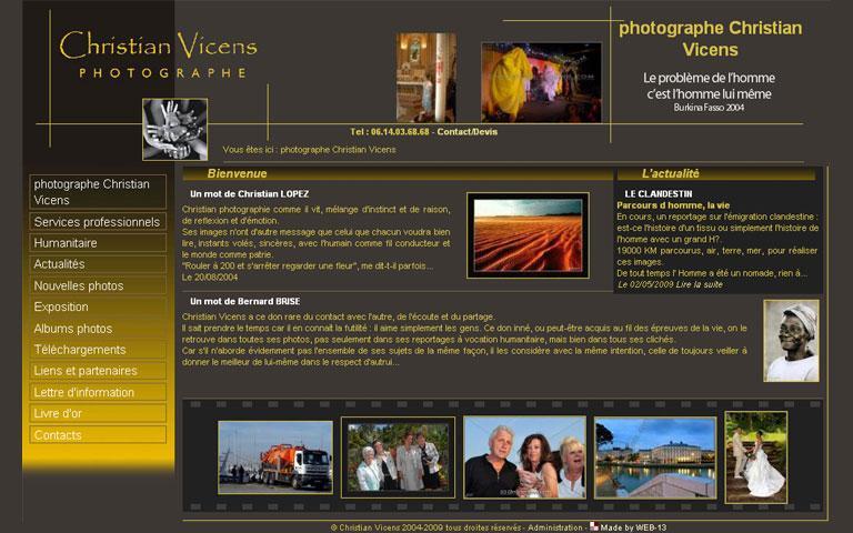 Christian Vicens Photographe - Bordeaux