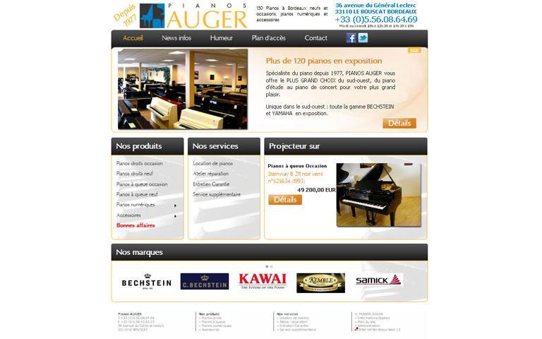 Pianos AUGER - Bordeaux
